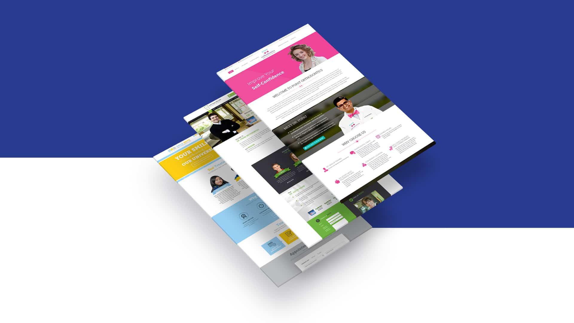 First Dentist website portfolio