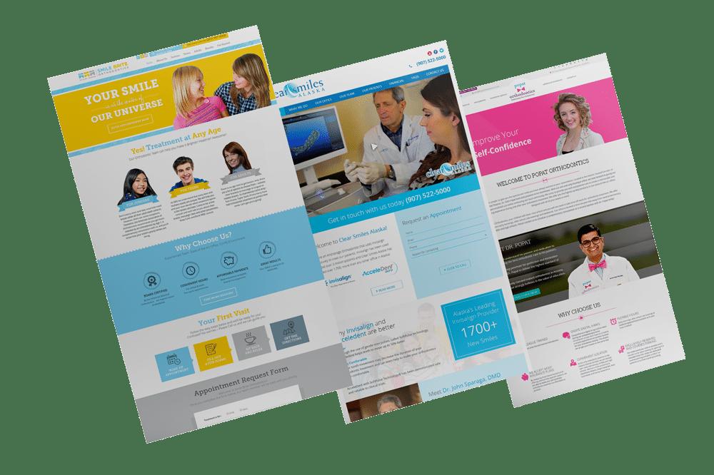 First Dentist website samples