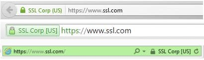 ssl certificate types