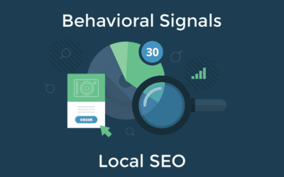 Local Search and Behavioral Signals